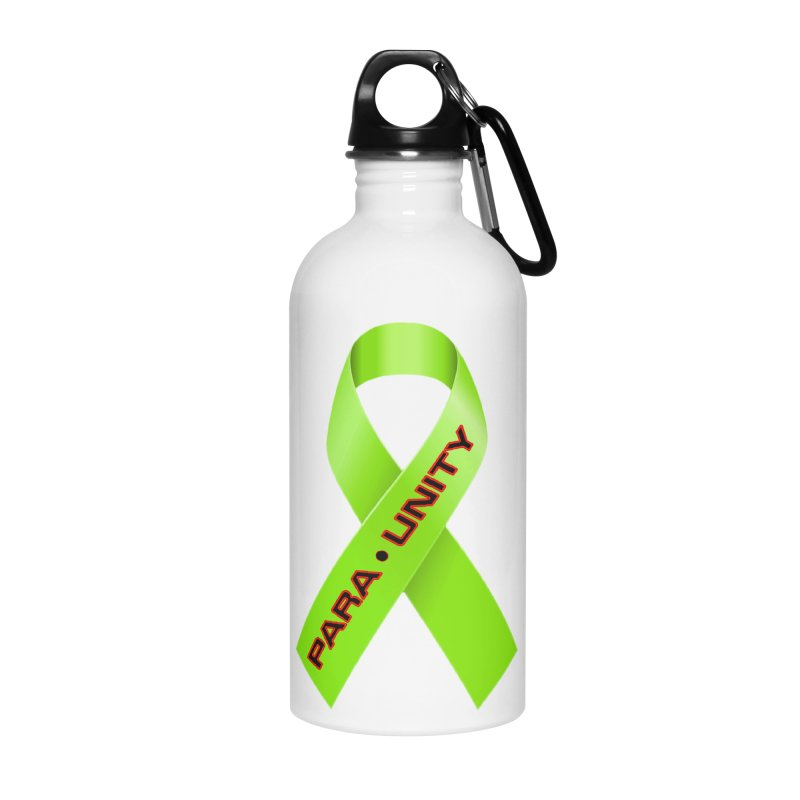 Paraunity Accessories Water Bottle by DesignsbyAnvilJames's Artist Shop