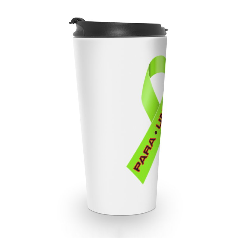 Paraunity Accessories Travel Mug by DesignsbyAnvilJames's Artist Shop