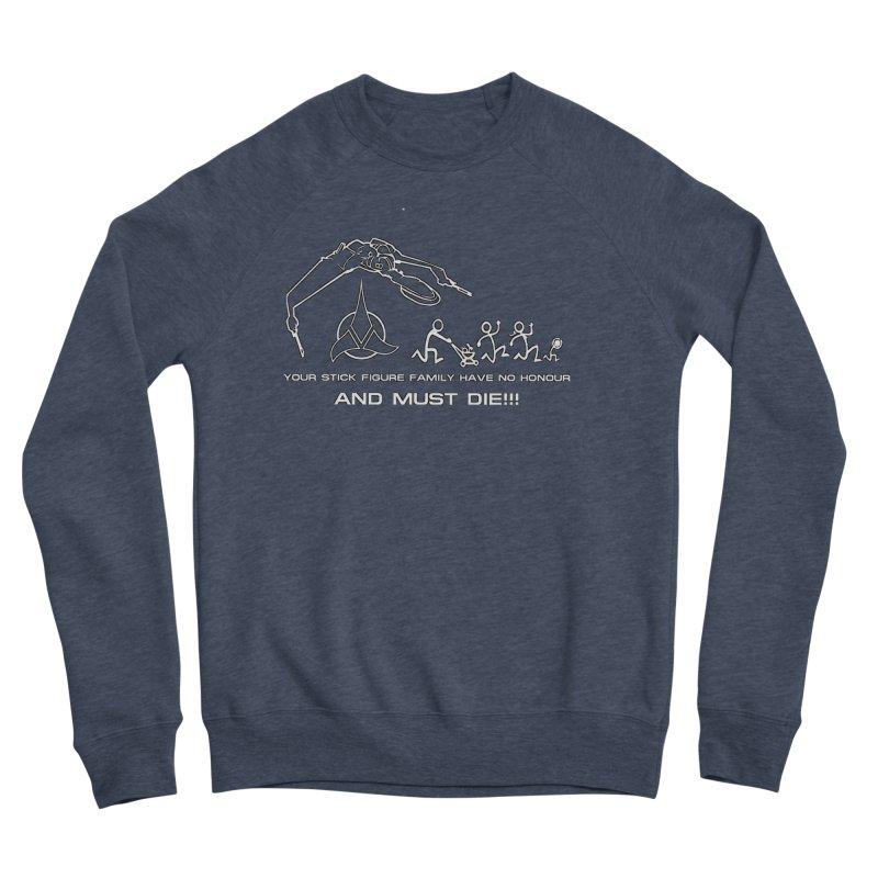 Klingon Family Men's Sponge Fleece Sweatshirt by DesignsbyAnvilJames's Artist Shop