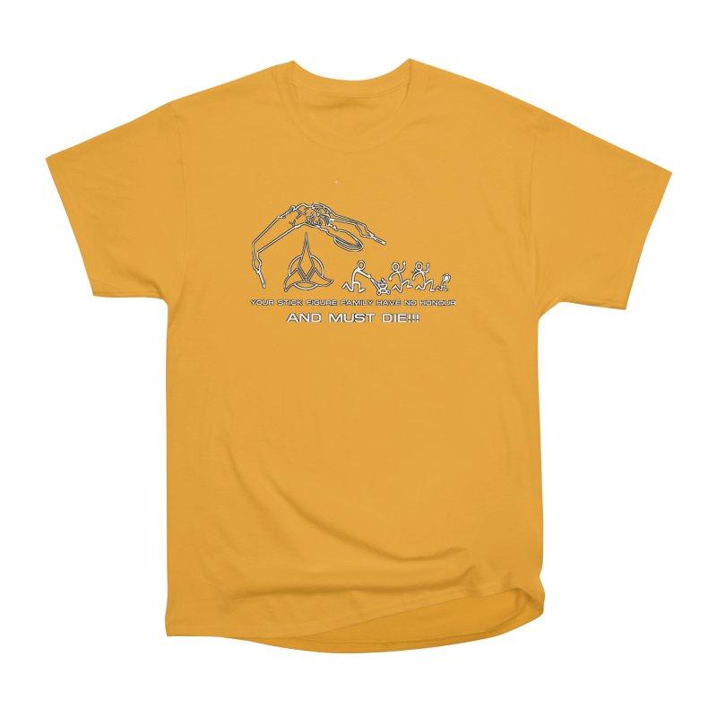 Klingon Family Women's Heavyweight Unisex T-Shirt by DesignsbyAnvilJames's Artist Shop