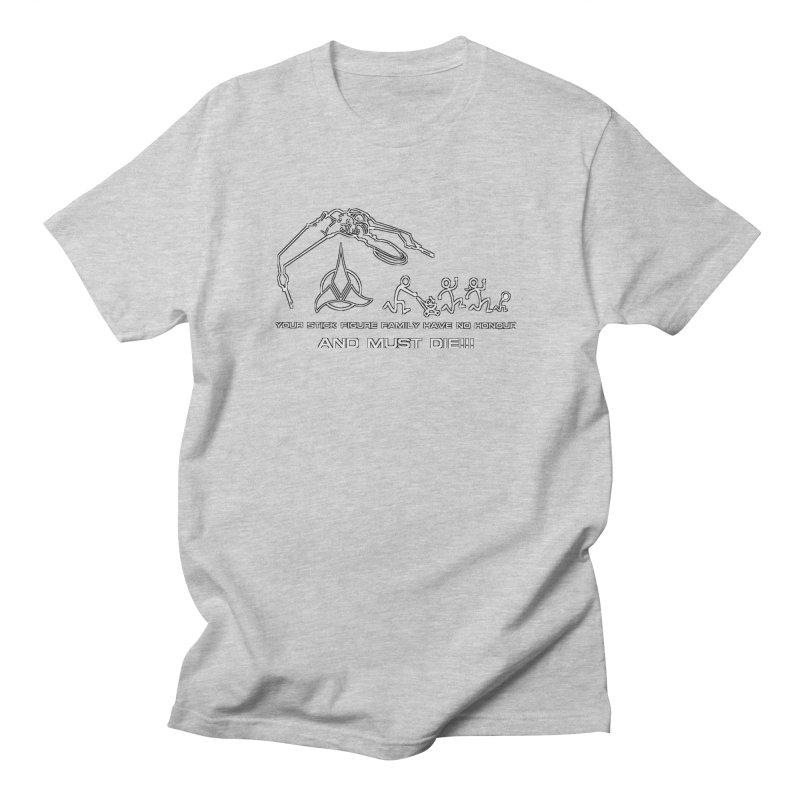 Klingon Family Men's Regular T-Shirt by DesignsbyAnvilJames's Artist Shop