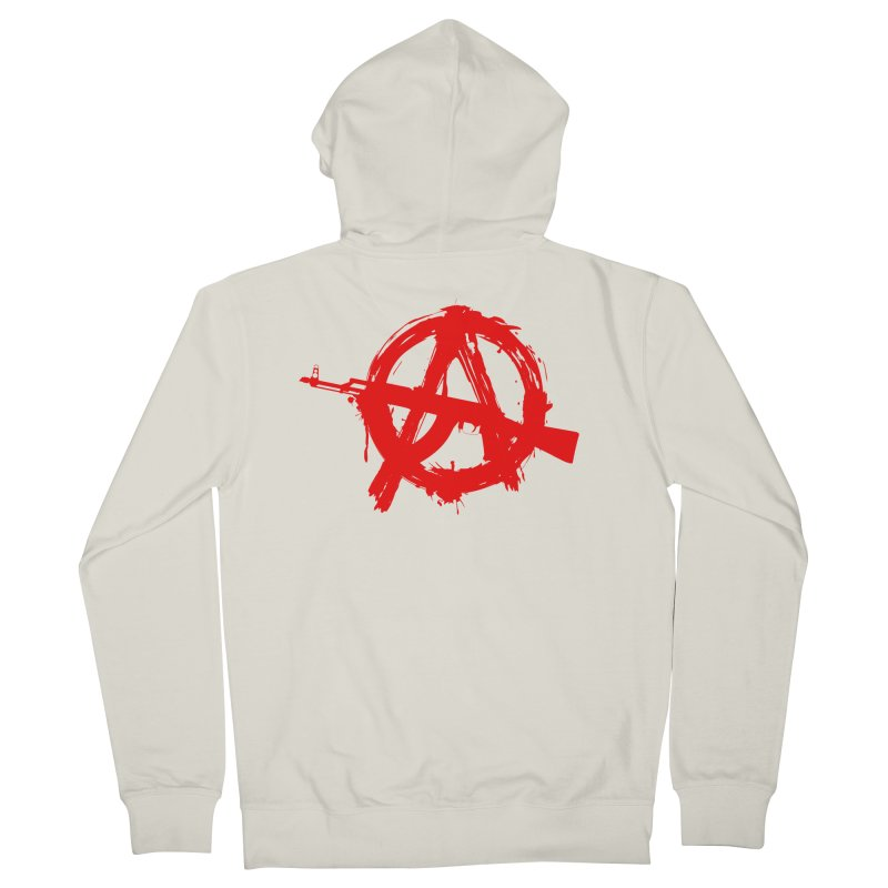 AK ARCY Men's French Terry Zip-Up Hoody by DesignsbyAnvilJames's Artist Shop
