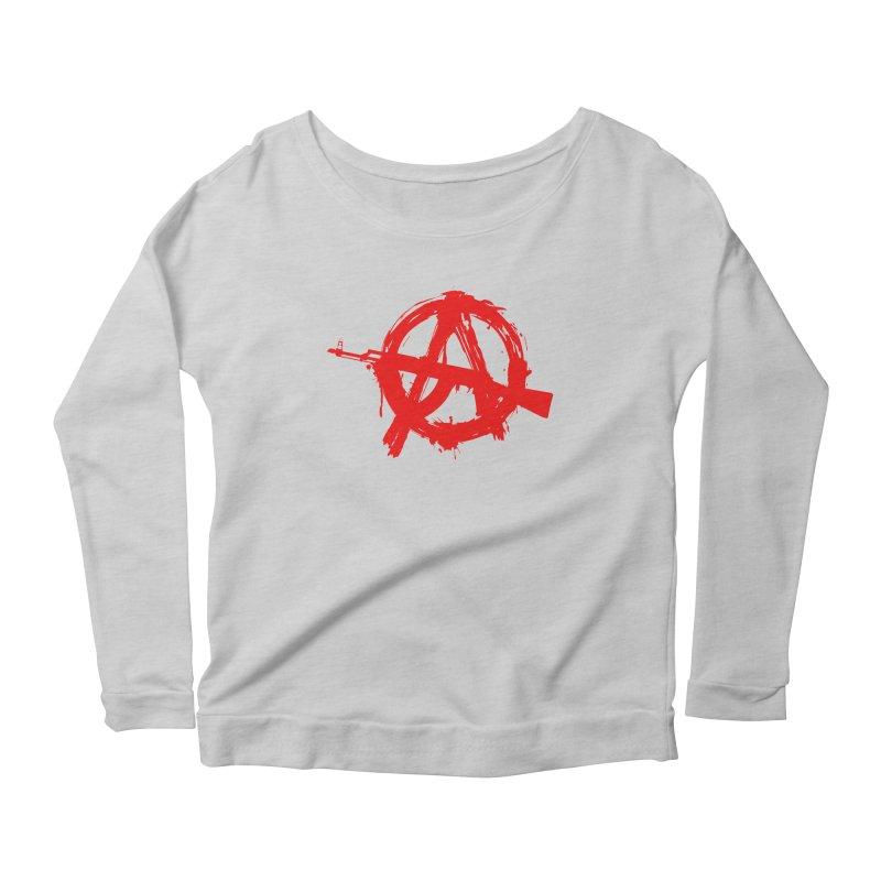 AK ARCY Women's Scoop Neck Longsleeve T-Shirt by DesignsbyAnvilJames's Artist Shop