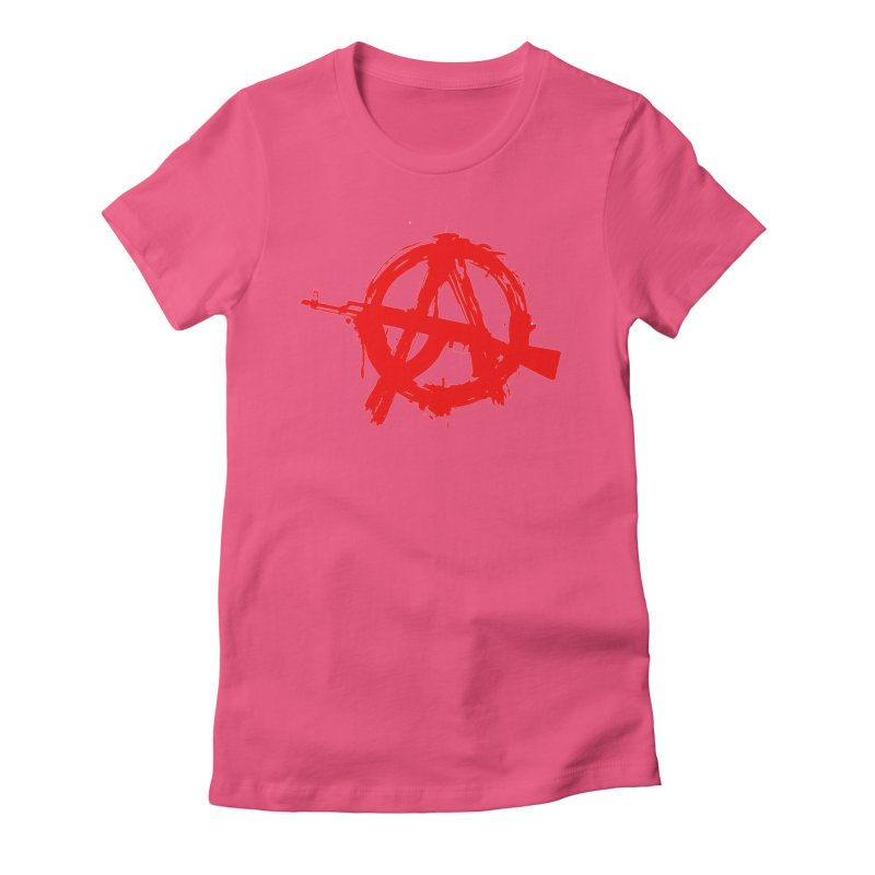 AK ARCY Women's Fitted T-Shirt by DesignsbyAnvilJames's Artist Shop