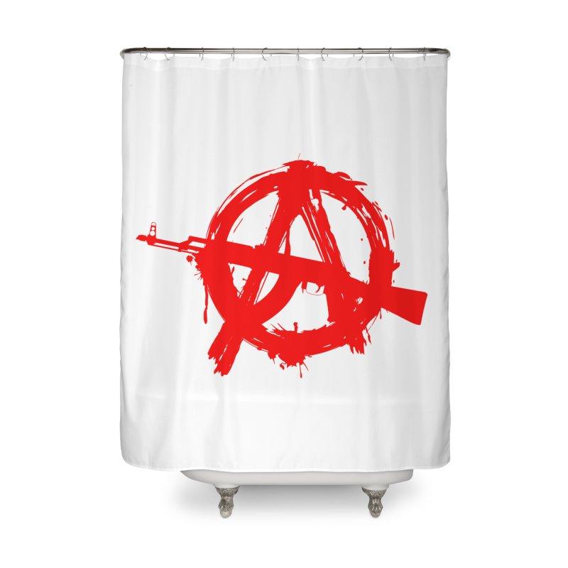 AK ARCY Home Shower Curtain by DesignsbyAnvilJames's Artist Shop