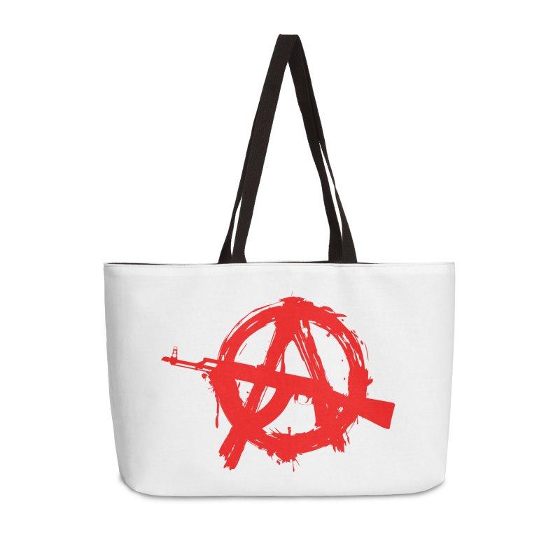 AK ARCY Accessories Weekender Bag Bag by DesignsbyAnvilJames's Artist Shop