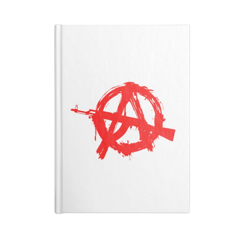 AK ARCY Accessories Blank Journal Notebook by DesignsbyAnvilJames's Artist Shop