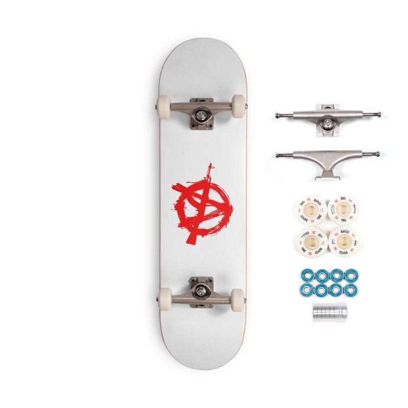 AK ARCY Accessories Complete - Premium Skateboard by DesignsbyAnvilJames's Artist Shop