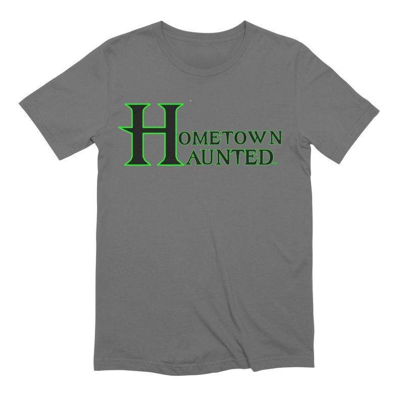 Hometown Haunted (Black) Men's T-Shirt by DesignsbyAnvilJames's Artist Shop