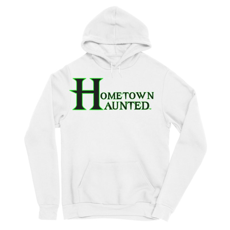 Hometown Haunted (Black) Men's Sponge Fleece Pullover Hoody by DesignsbyAnvilJames's Artist Shop