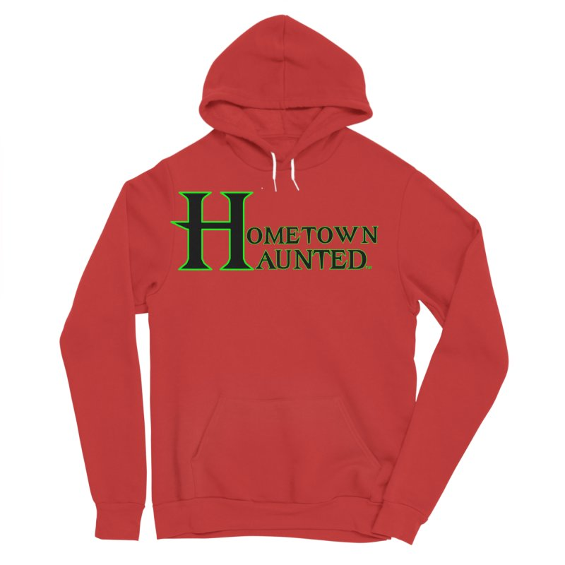 Hometown Haunted (Black) Women's Pullover Hoody by DesignsbyAnvilJames's Artist Shop