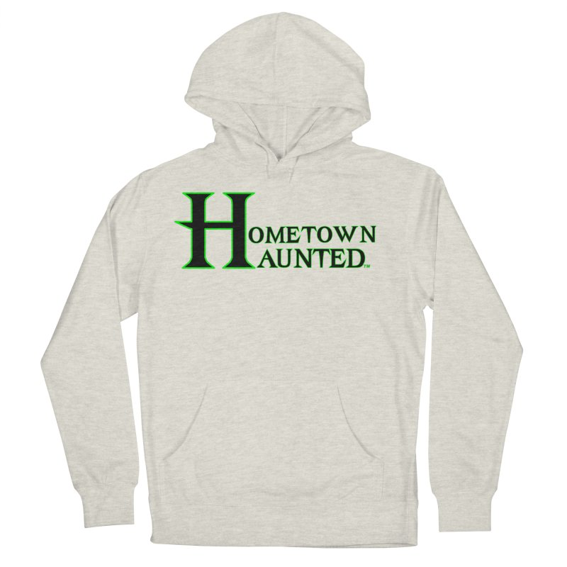 Hometown Haunted (Black) Women's French Terry Pullover Hoody by DesignsbyAnvilJames's Artist Shop