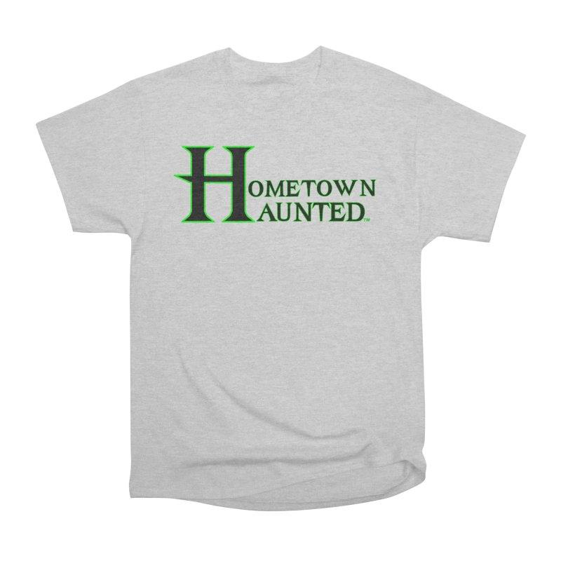 Hometown Haunted (Black) Men's Heavyweight T-Shirt by DesignsbyAnvilJames's Artist Shop