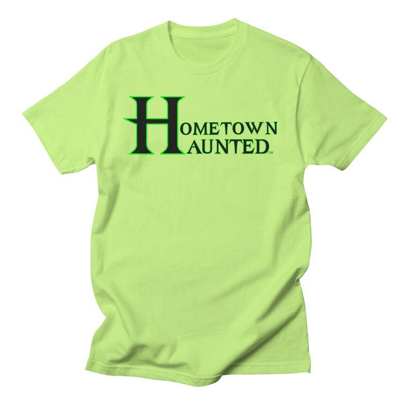 Hometown Haunted (Black) Women's Regular Unisex T-Shirt by DesignsbyAnvilJames's Artist Shop