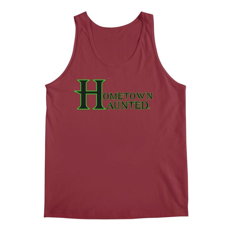 Hometown Haunted (Black) Men's Regular Tank by DesignsbyAnvilJames's Artist Shop