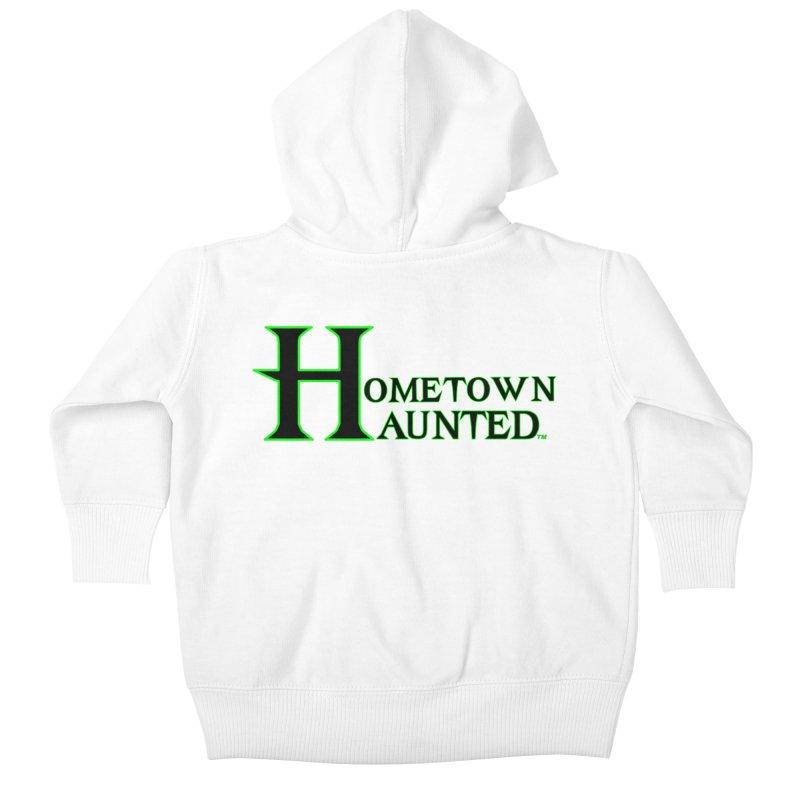 Hometown Haunted (Black) Kids Baby Zip-Up Hoody by DesignsbyAnvilJames's Artist Shop