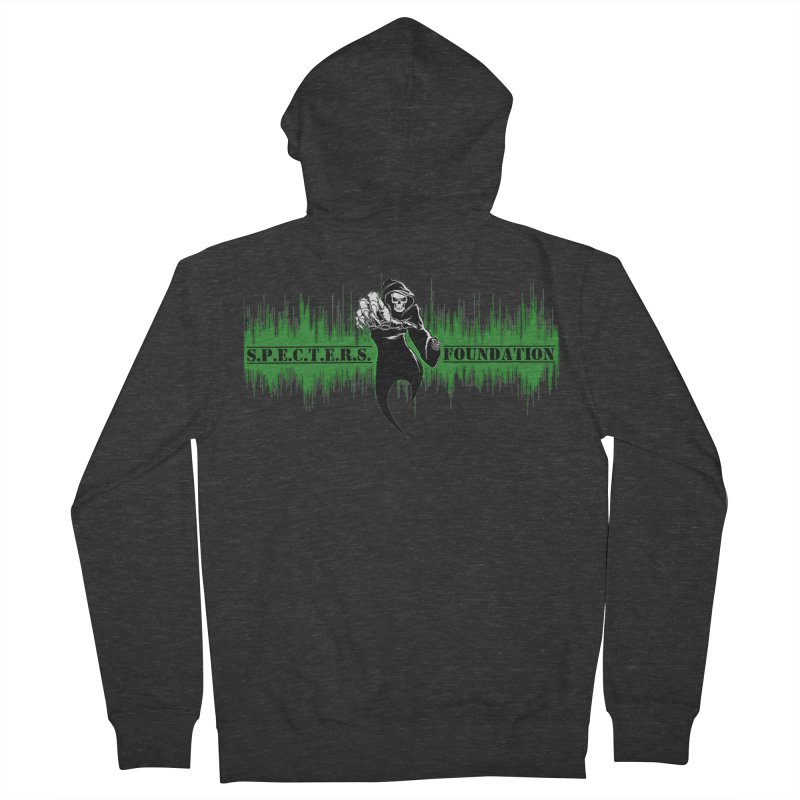 SPECTERS v2 Women's French Terry Zip-Up Hoody by DesignsbyAnvilJames's Artist Shop