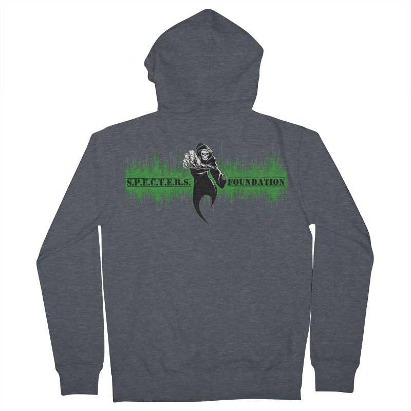 SPECTERS v2 Men's French Terry Zip-Up Hoody by DesignsbyAnvilJames's Artist Shop