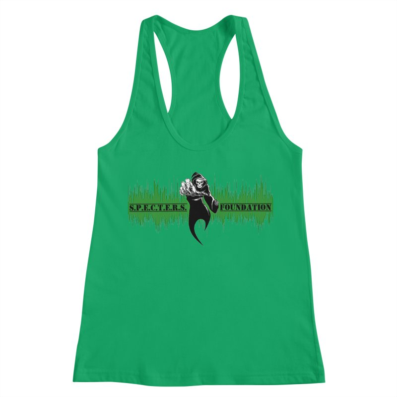 SPECTERS v2 Women's Racerback Tank by DesignsbyAnvilJames's Artist Shop