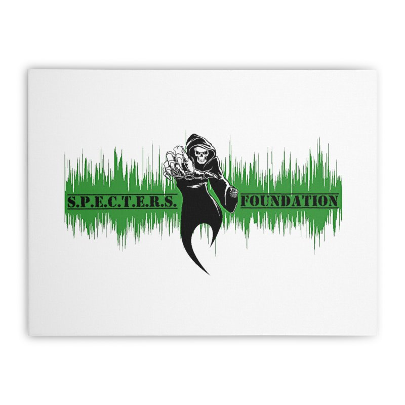 SPECTERS v2 Home Stretched Canvas by DesignsbyAnvilJames's Artist Shop