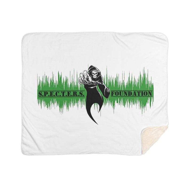SPECTERS v2 Home Sherpa Blanket Blanket by DesignsbyAnvilJames's Artist Shop