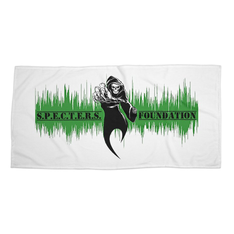 SPECTERS v2 Accessories Beach Towel by DesignsbyAnvilJames's Artist Shop