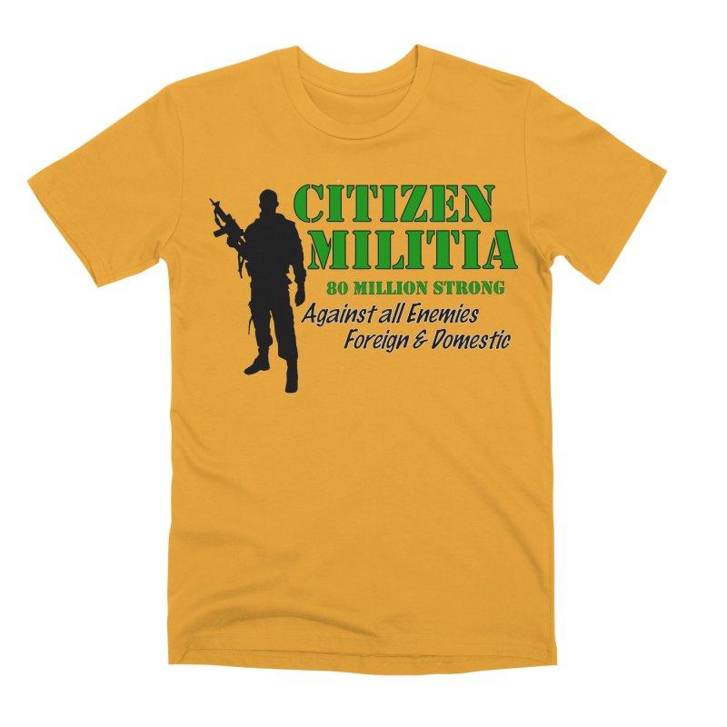Citizen Militia Men's Premium T-Shirt by DesignsbyAnvilJames's Artist Shop