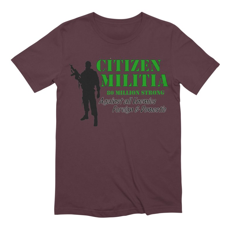Citizen Militia Men's Extra Soft T-Shirt by DesignsbyAnvilJames's Artist Shop