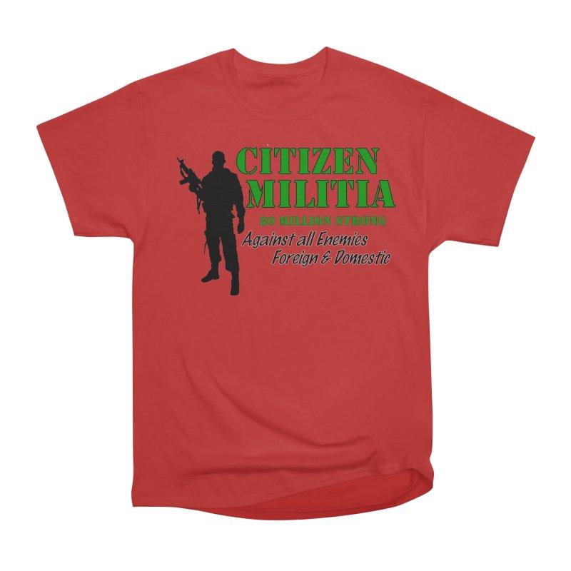 Citizen Militia Men's Heavyweight T-Shirt by DesignsbyAnvilJames's Artist Shop