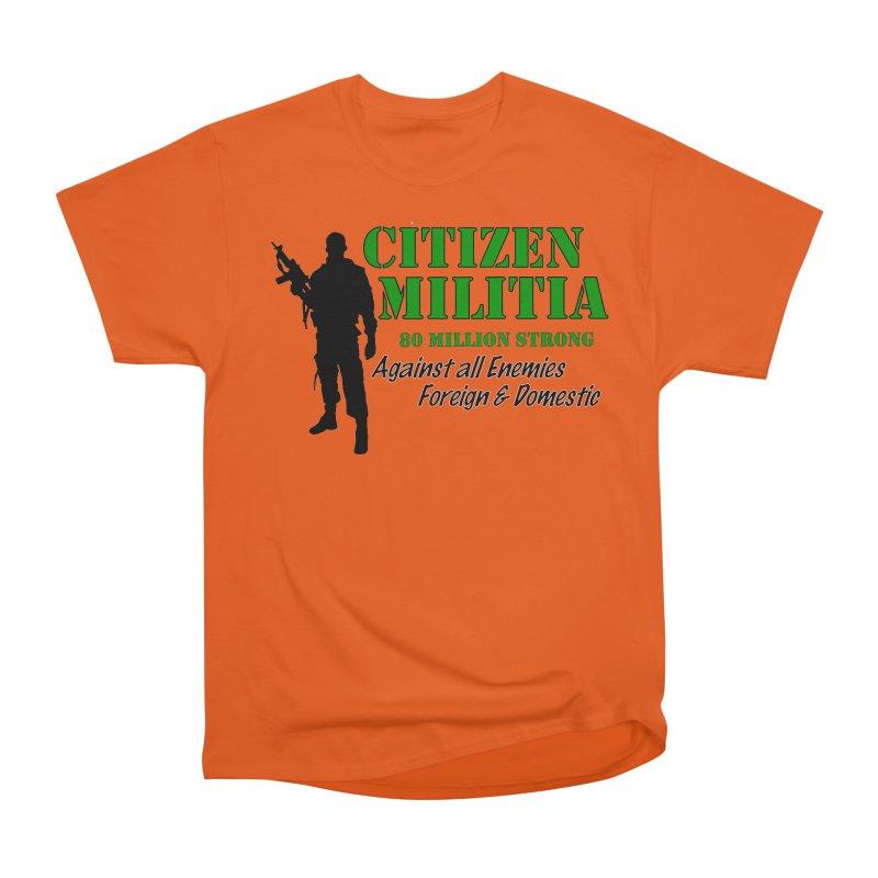 Citizen Militia Women's Heavyweight Unisex T-Shirt by DesignsbyAnvilJames's Artist Shop
