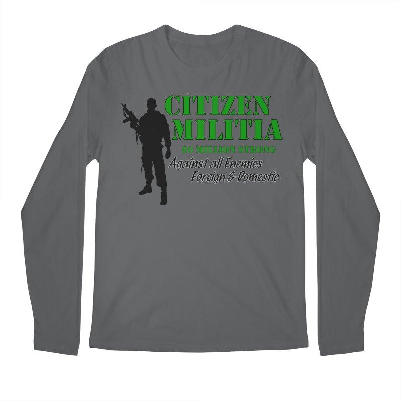 Citizen Militia Men's Longsleeve T-Shirt by DesignsbyAnvilJames's Artist Shop