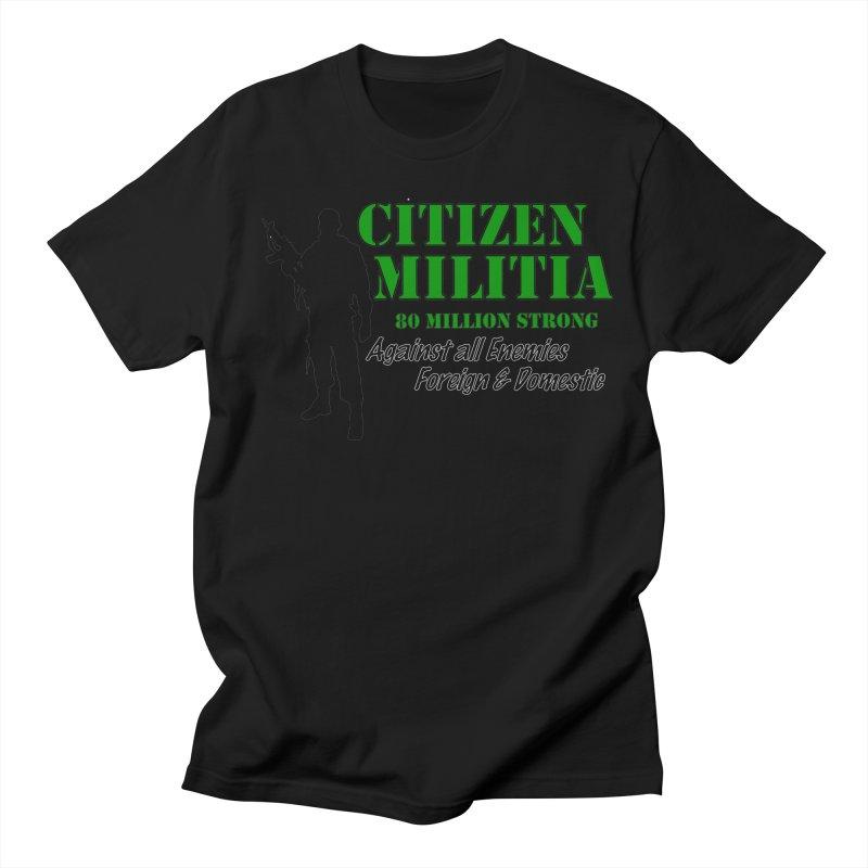 Citizen Militia Men's T-Shirt by DesignsbyAnvilJames's Artist Shop