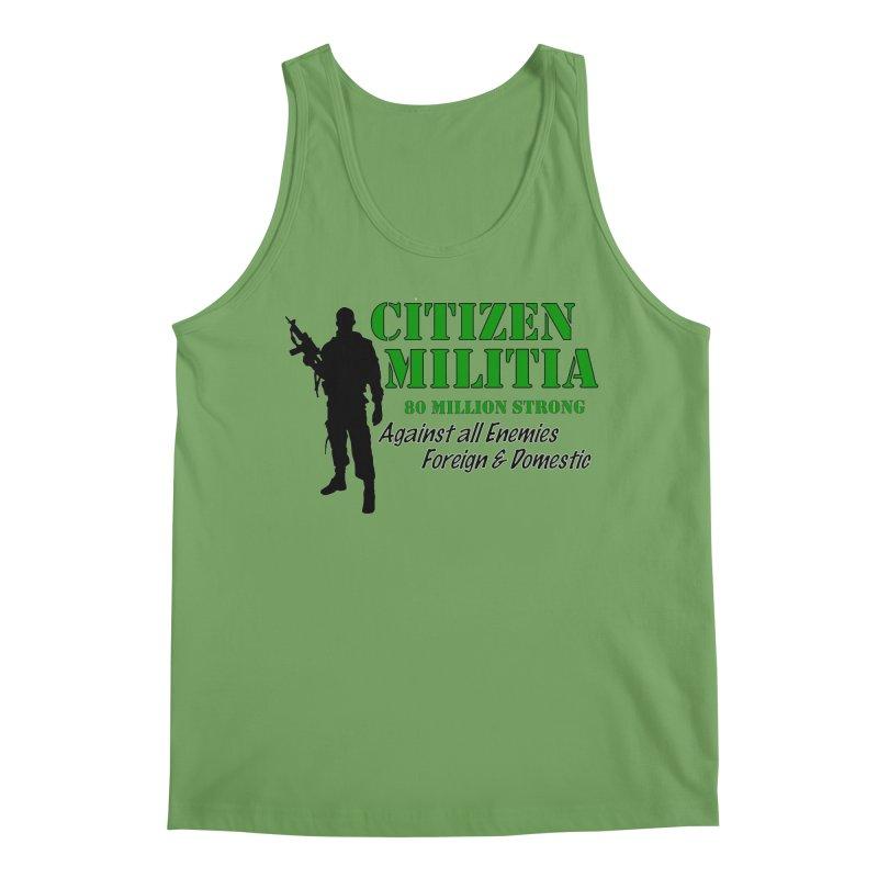 Citizen Militia Men's Tank by DesignsbyAnvilJames's Artist Shop