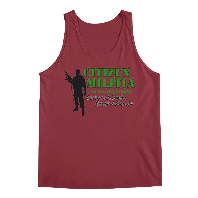 Citizen Militia Men's Regular Tank by DesignsbyAnvilJames's Artist Shop
