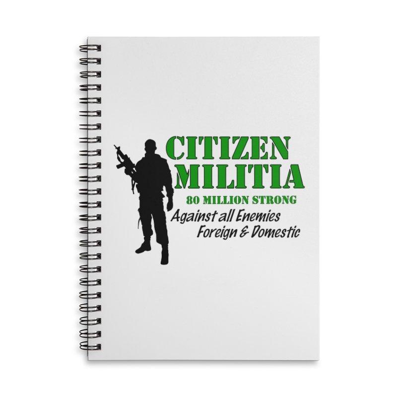 Citizen Militia Accessories Notebook by DesignsbyAnvilJames's Artist Shop
