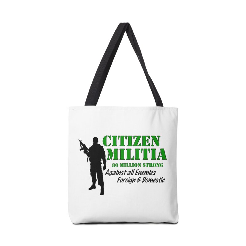 Citizen Militia Accessories Bag by DesignsbyAnvilJames's Artist Shop