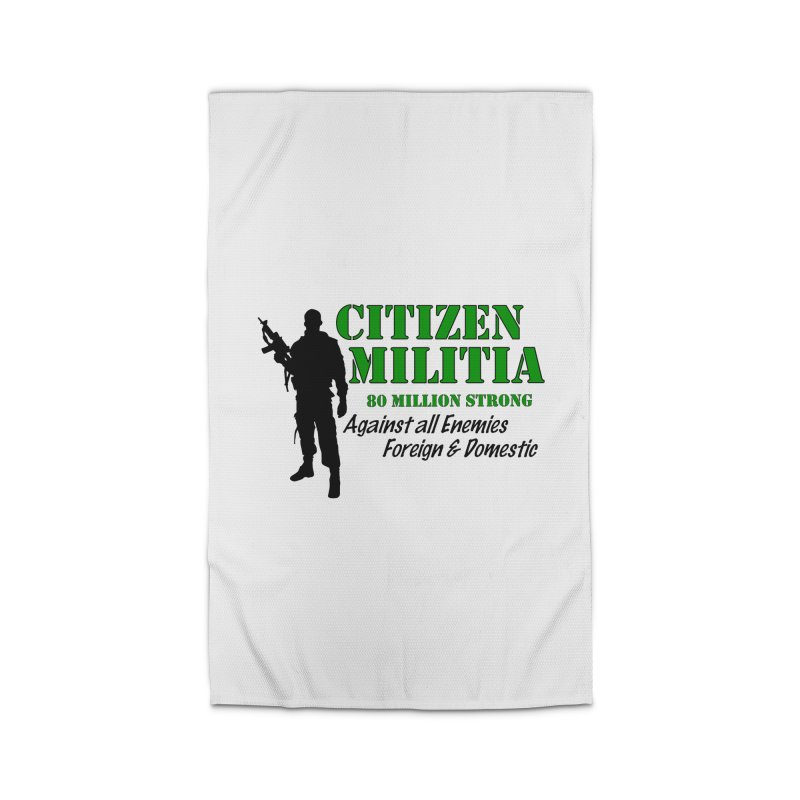 Citizen Militia Home Rug by DesignsbyAnvilJames's Artist Shop