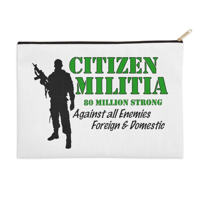 Citizen Militia Accessories Zip Pouch by DesignsbyAnvilJames's Artist Shop
