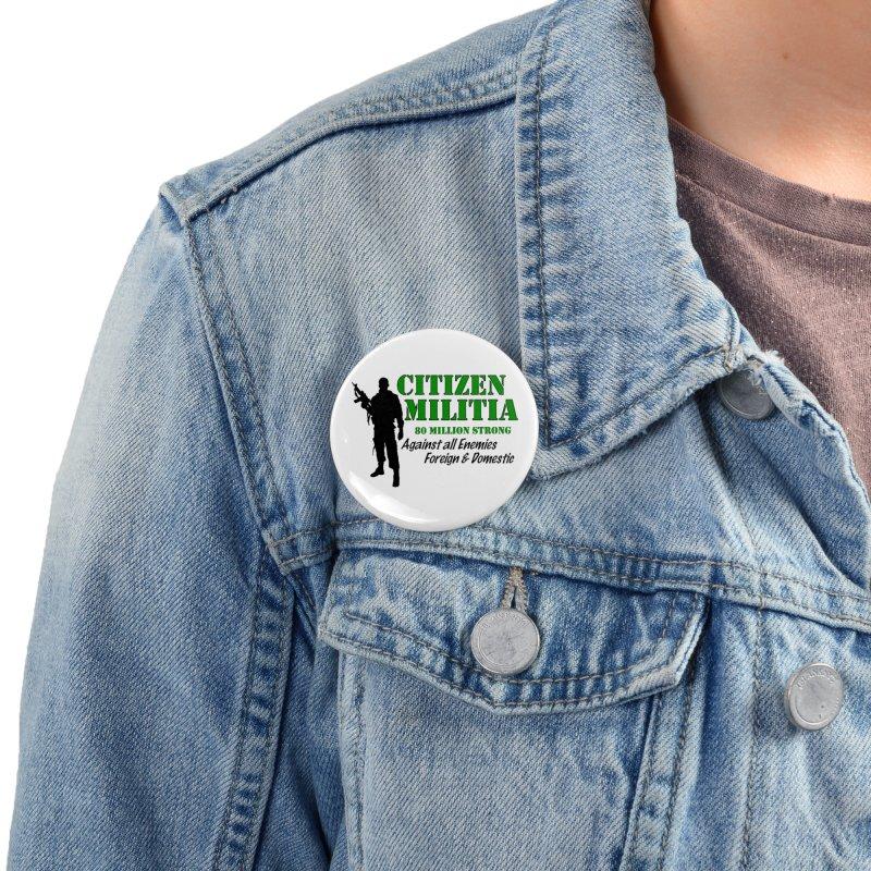 Citizen Militia Accessories Button by DesignsbyAnvilJames's Artist Shop