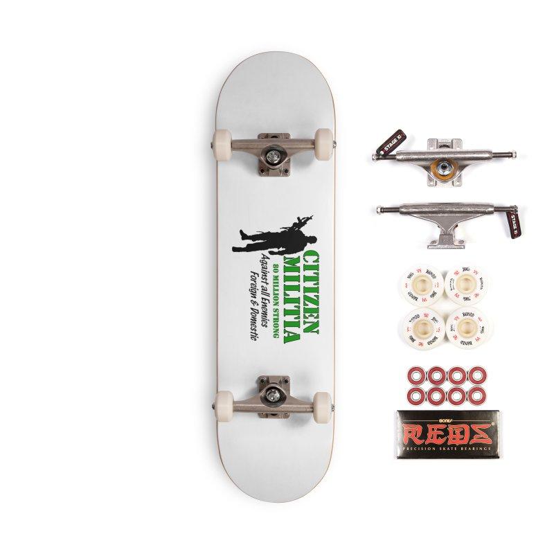 Citizen Militia Accessories Complete - Pro Skateboard by DesignsbyAnvilJames's Artist Shop