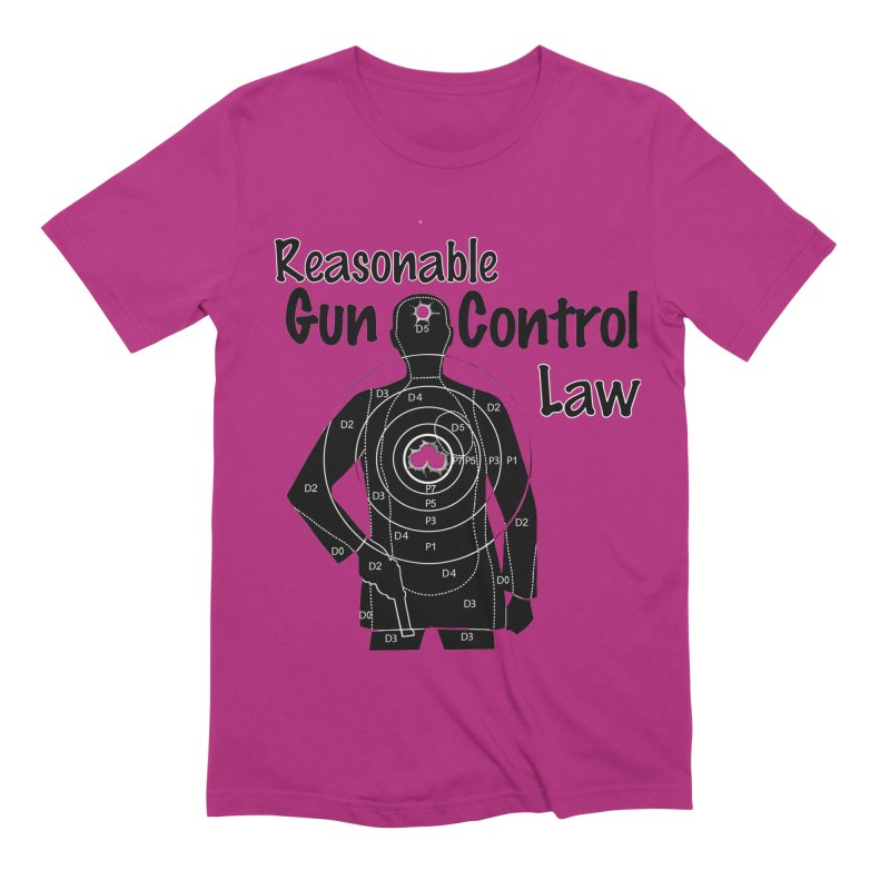 Reasonable Laws Men's Extra Soft T-Shirt by DesignsbyAnvilJames's Artist Shop
