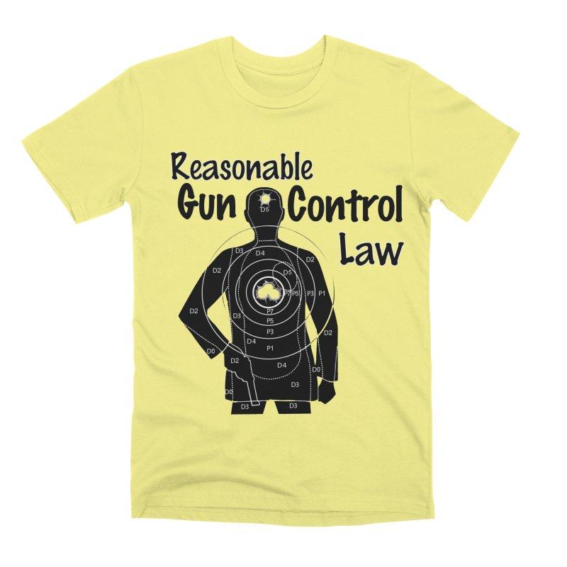 Reasonable Laws Men's Premium T-Shirt by DesignsbyAnvilJames's Artist Shop