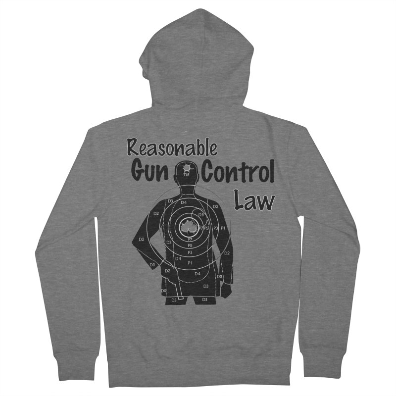 Reasonable Laws Men's French Terry Zip-Up Hoody by DesignsbyAnvilJames's Artist Shop