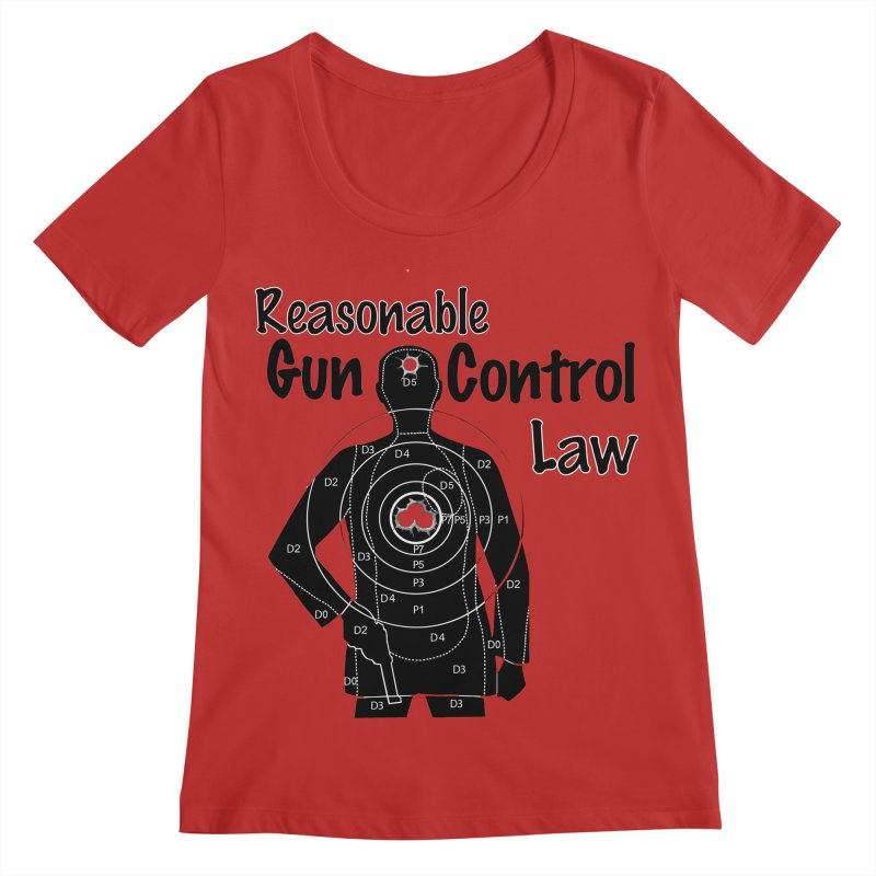 Reasonable Laws Women's Regular Scoop Neck by DesignsbyAnvilJames's Artist Shop