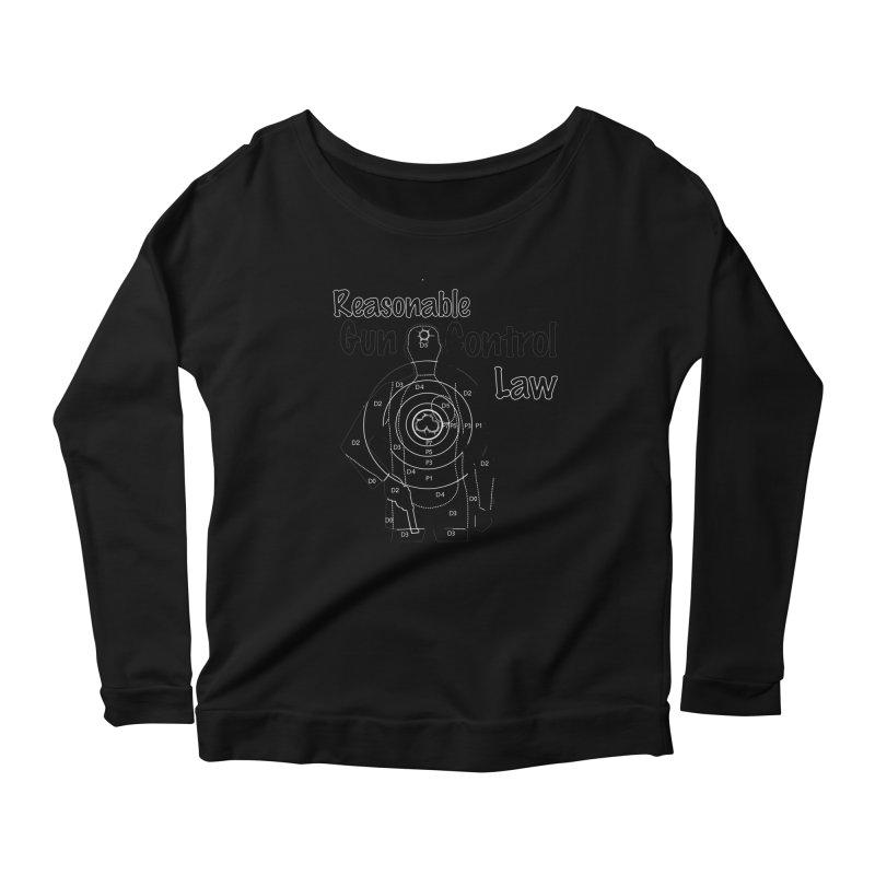 Reasonable Laws Women's Scoop Neck Longsleeve T-Shirt by DesignsbyAnvilJames's Artist Shop