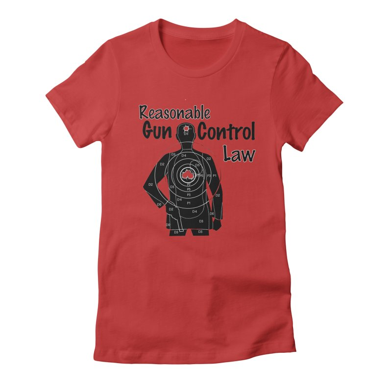 Reasonable Laws Women's Fitted T-Shirt by DesignsbyAnvilJames's Artist Shop