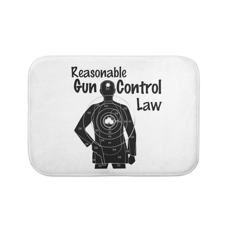 Reasonable Laws Home Bath Mat by DesignsbyAnvilJames's Artist Shop