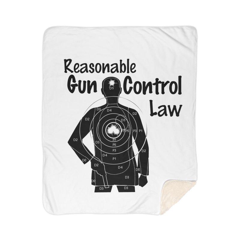 Reasonable Laws Home Sherpa Blanket Blanket by DesignsbyAnvilJames's Artist Shop