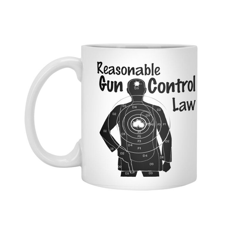 Reasonable Laws Accessories Standard Mug by DesignsbyAnvilJames's Artist Shop