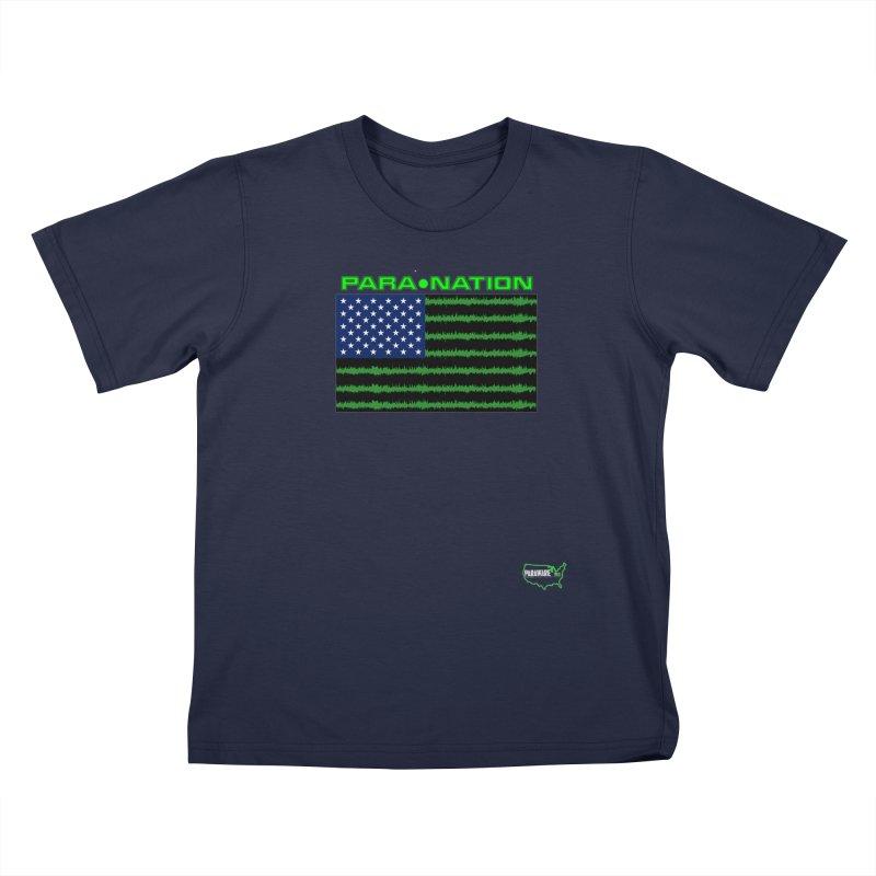 New Paranation Tee Kids T-Shirt by DesignsbyAnvilJames's Artist Shop